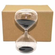 Песочные часы на 30 минут с черным песком