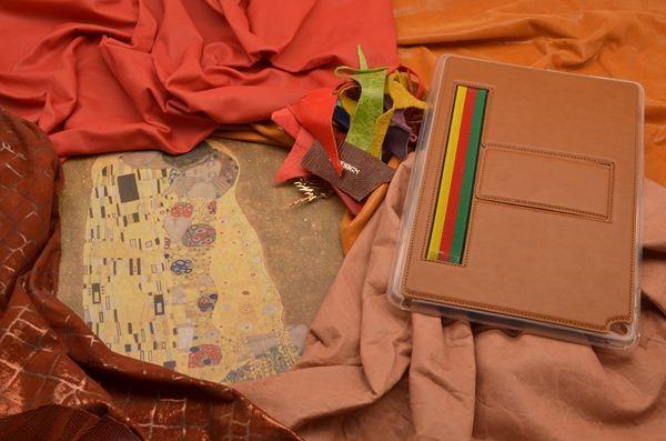 Кожаный чехол для iPad Air 2 «Вива, Сардиния» (коричневый)