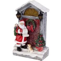 Светящееся украшение Дед Мороз с мешком подарков