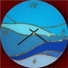 Часы с кристаллами Swarovski Волна