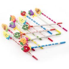 Набор карандашей на пружинке №10
