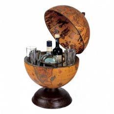 Глобус-бар Zoffoli, настольный на деревянной подствке