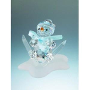 Статуэтка хрустальная «Снеговик»