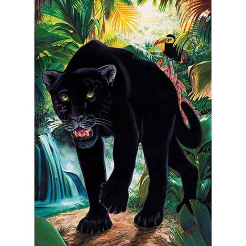 Пазл «Черная пантера»