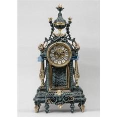 Каминные часы из бронзы Ребека