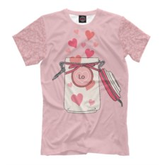 Мужская футболка Формула любви