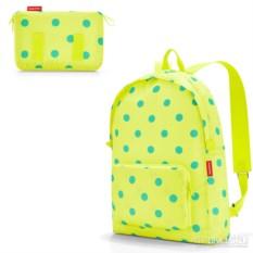 Cкладной рюкзак mini maxi lemon dots