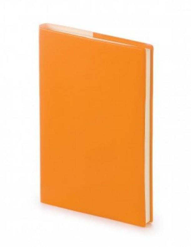 Оранжевый недатированный ежедневник Glossy Pro А5