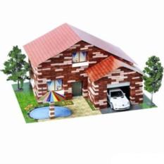Строительный набор Дом с бассейном