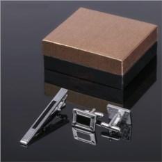 Подарочный набор для мужчин Черный прямоугольник