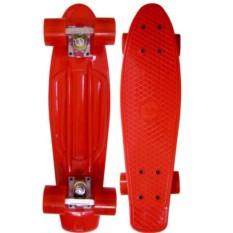 Красный скейт Cruiser Board ecoBalance