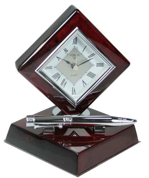 Часы настольные VIRON 14х13х17 см.