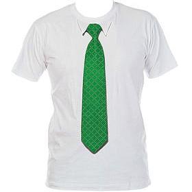 Футболка с 3D галстуком Square 98