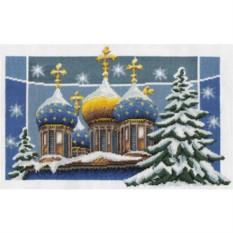 Набор для вышивания Рождественские купола Panna