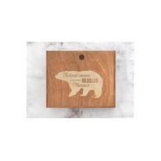 Мужской набор для ухода за кожей «Побрей своего медведя»