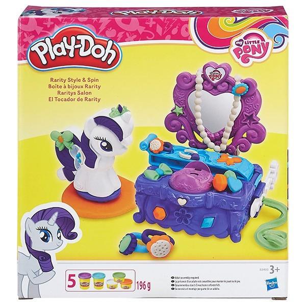 Набор для творчества Туалетный столик Рарити (Play Doh)
