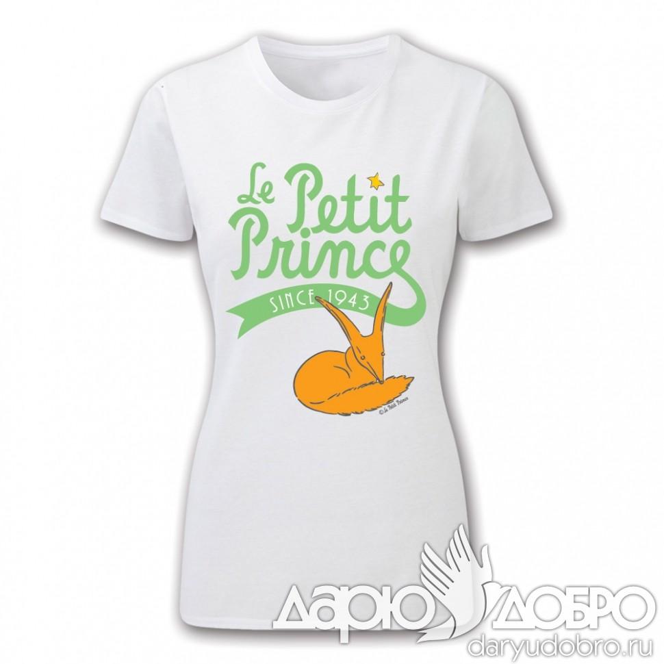 Женская футболка Маленький Принц