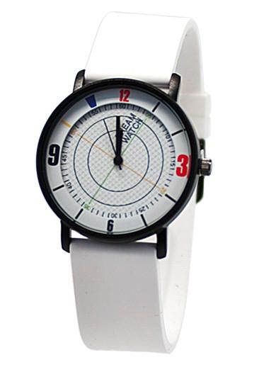 Белые часы Palette