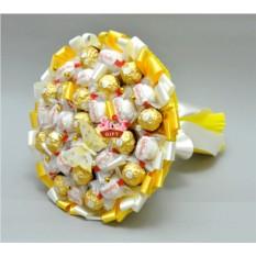 Букет из конфет Солнечный