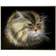 Картина с кристаллами Swarovski Лохматое чудо