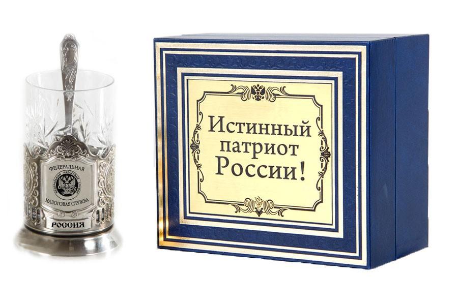 Подстаканник истинный патриот ФНС РФ