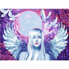 Раскраска по номерам Ravensburger Фантастический ангел