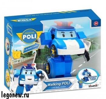 Машинка - трансформер Поли на радиоуправлении (Robocar)