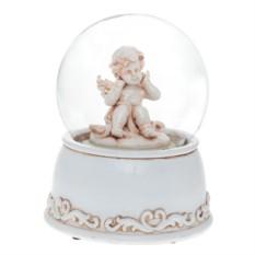 Декоративная фигурка Ангел в стеклянном шаре