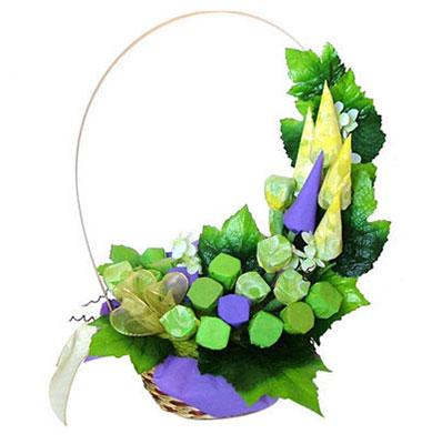Букет из конфет «Виноградная лоза»