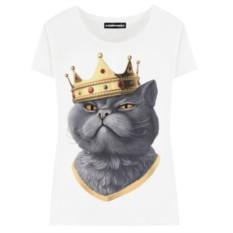 Женская футболка «Король»
