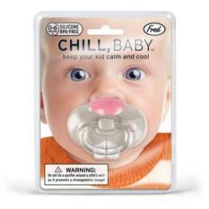 Соска-пустышка Зайчик (Chill Baby)