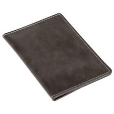 Кожаное портмоне Apache темно-серого цвета