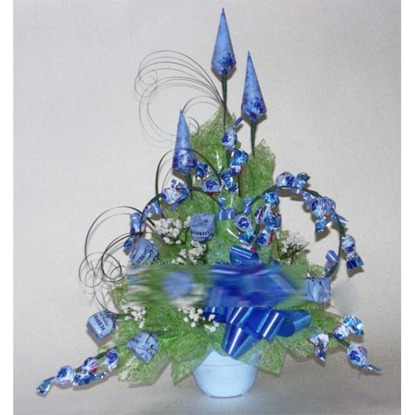 Букет конфет «Голубая лагуна»