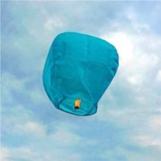 Небесный фонарик (голубой)