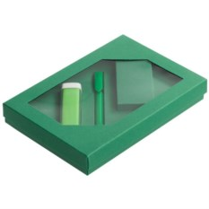 Набор Energy: аккумулятор и ручка (цвет — зеленый)