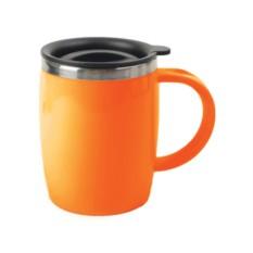 Оранжевая термокружка