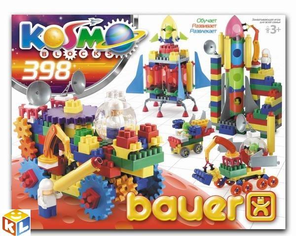 Конструктор Bauer серия Космос 398 элементов