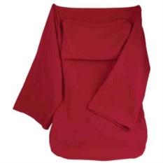 Плед с рукавами Cosy, красный