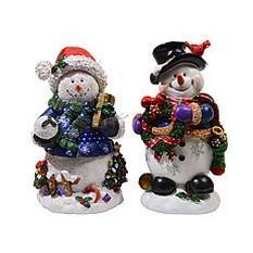 Миниатюра Веселые снеговики