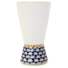 Фарфоровая ваза для салфеток Кобальтовая сетка