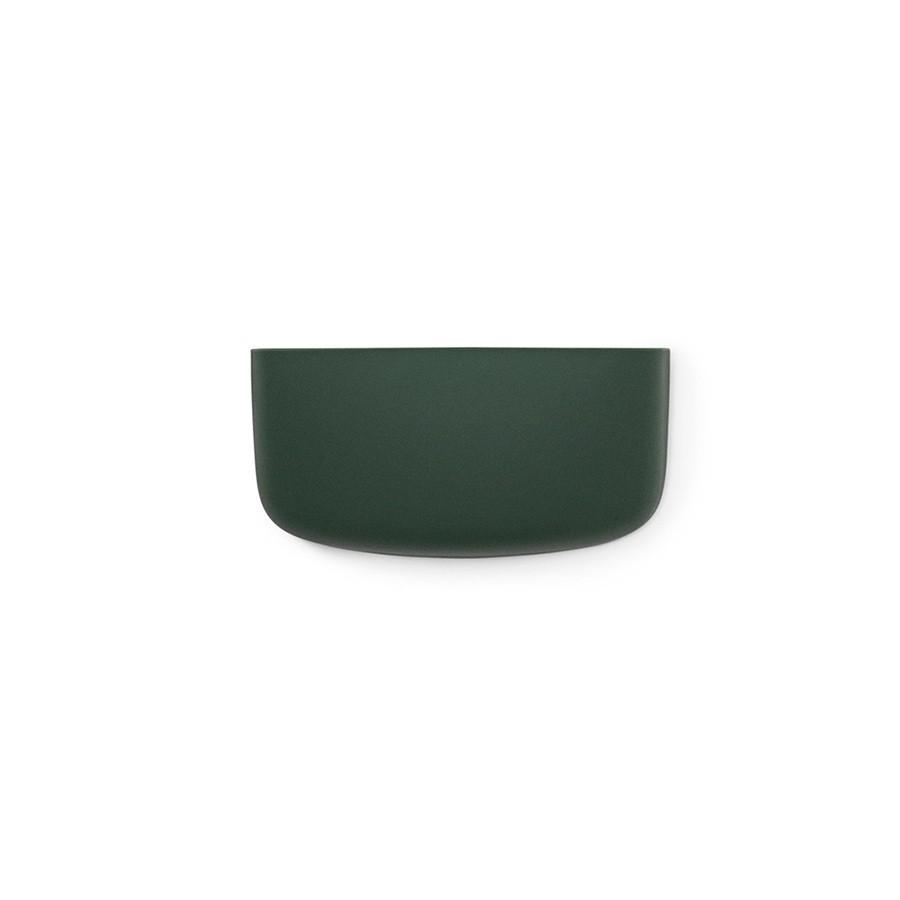 Зеленый настенный органайзер Pocket 1