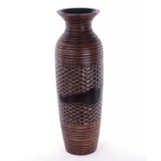 Резная ваза из дерева (24 см)