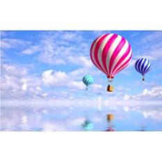 Индивидуальный полет на шаре в форме сердца