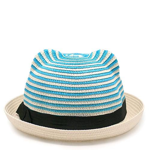 Шляпа Cat ears (белая с голубым)
