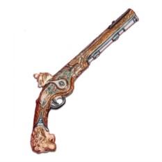 Штоф для напитков «Дуэльный пистолет. В защиту чести»