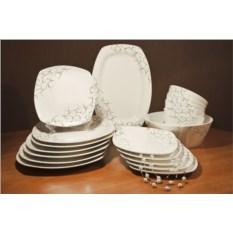 Столовый сервиз на 6 персон Тодес (20 предметов, фарфор)