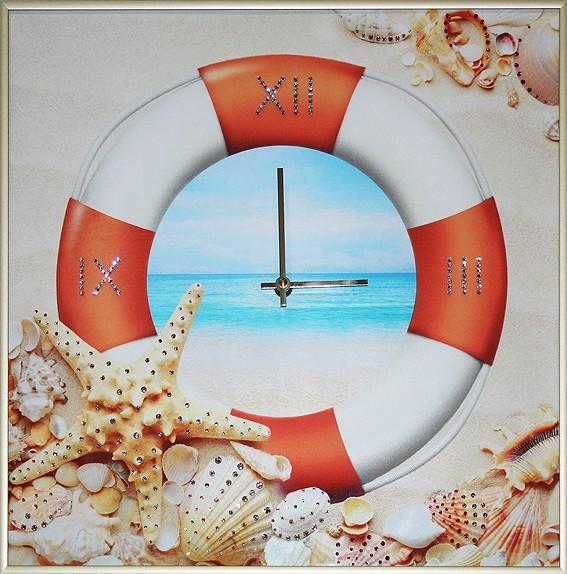 Часы с кристаллами Swarovski Время отдыхать