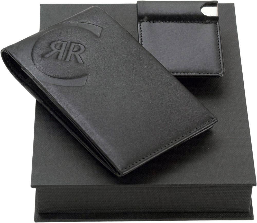 Набор Cerruti 1881: визитница с флеш-картой USB 2.0 на 4 Гб