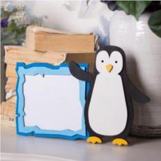 Детская фоторамка Пингвин