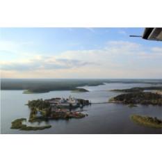 Полет к озеру Селигер на самолете Вильга-35 для троих